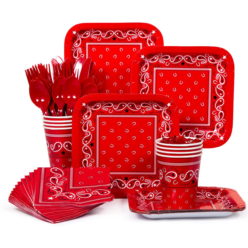 Western Standard Kit (Serves 8) - Party Supplies