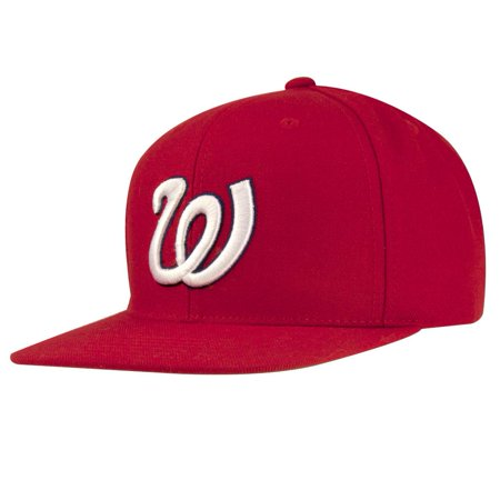 Washington Senators - 1971 Logo MLB 400 Adult Flat Brim Snapback Cap ()