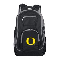 NCAA Oregon Ducks Premium Laptop Backpack with Colored Trim