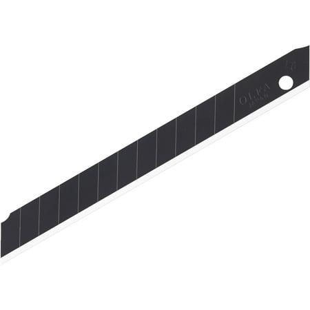 Olfa Black UltraSharp Snap-Off Blades 9mm 10-Pack 10 Pack Scalpel Blades