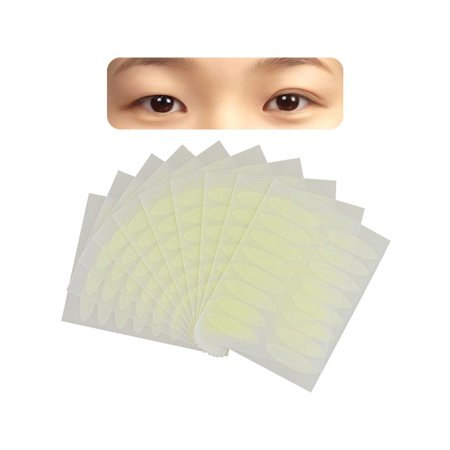 Zodaca 160 Pairs Invisible Breathable Double Eyelid Sticker Tape Technical Eye Tapes Wide (160 pcs Bundle) (Net Eyelid Tape)
