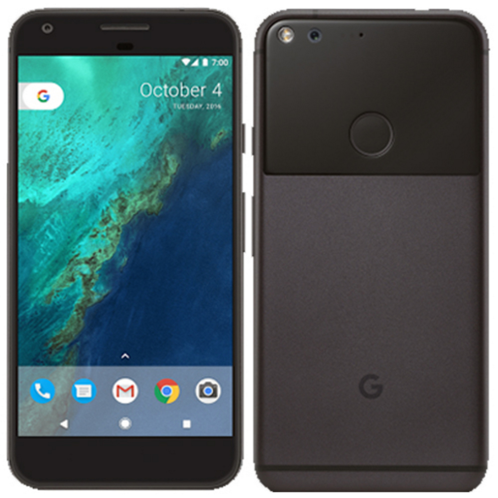 Google Pixel XL | Unlocked | Quite Black | 32GB | Used: Acceptable | 5.5"