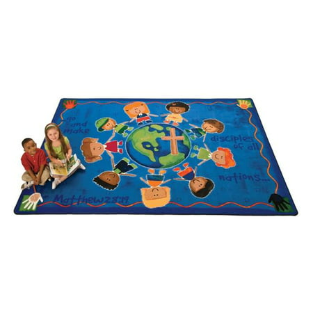 Carpets For Kids 92017 Great Commission Childrens Rug  7 Ft  8 In  X 10 Ft  10 In