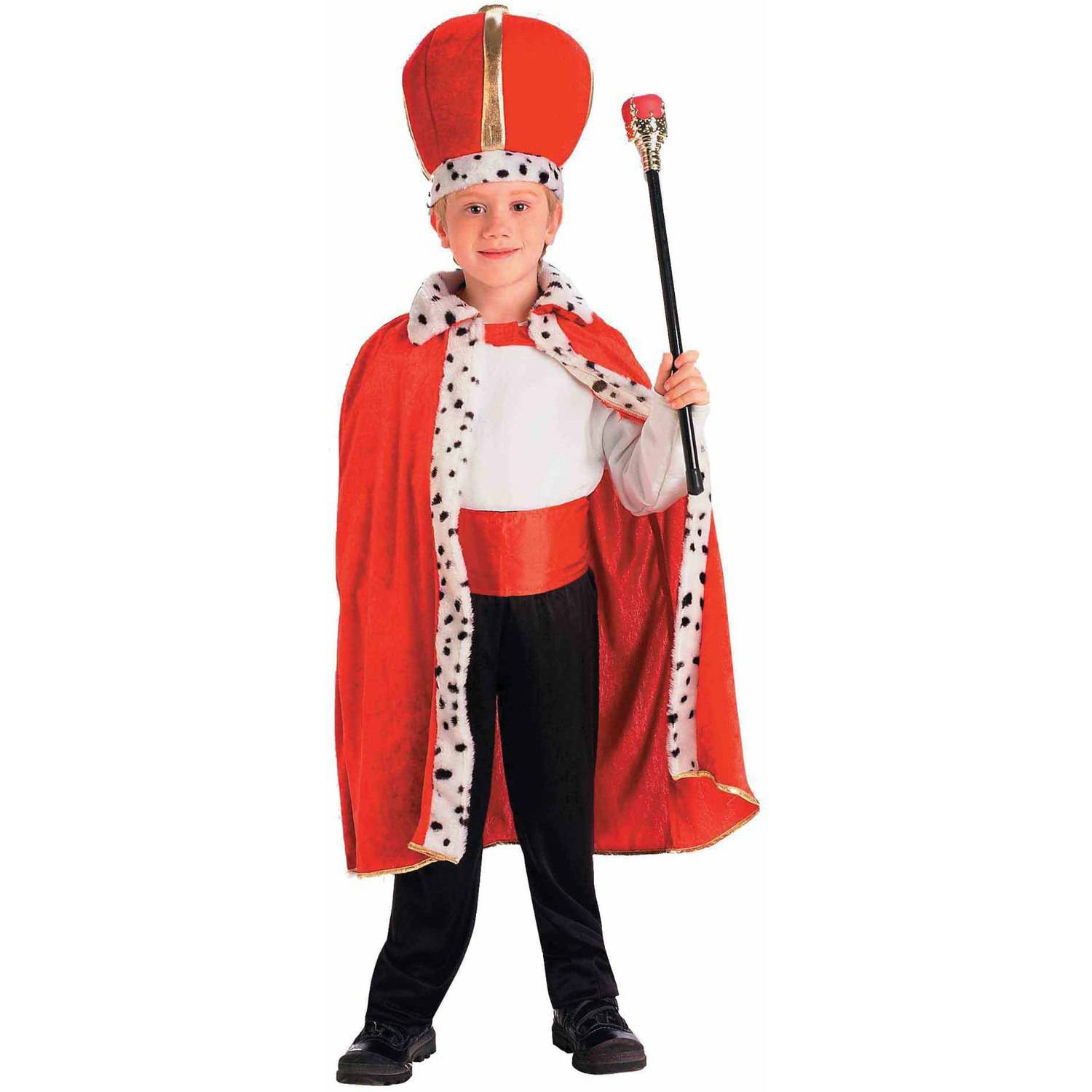 King Robe and Crown Child Halloween Costume