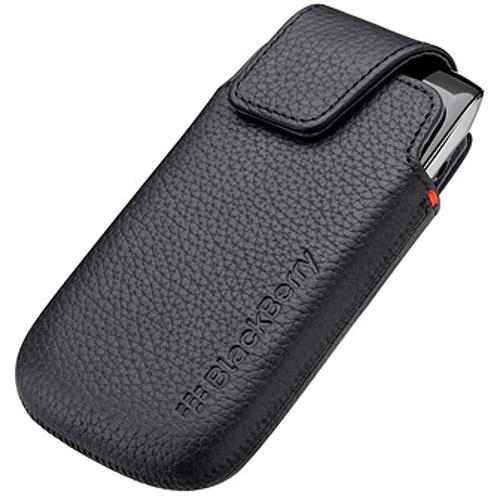 Blackberry Acc-38962-301 9850 / 9860 Torch Leather Pocket Case Retail Pkg