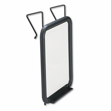 Safco Panelmate Dry Erase Marker Board, 11 x 14 Surface, Charcoal (Safco Panelmate Coat Hook)