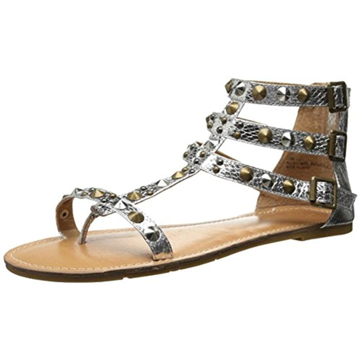 Mojo Moxy Womens Nomad Studded Thong Flat Sandals by Mojo Moxy