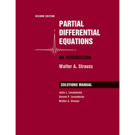 Student Solutions Manual to Accompany Partial Differential Equations: An Introduction,