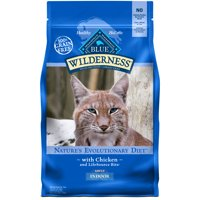 Blue Buffalo Wilderness Chicken Adult Indoor High Protein Cat Food, 2-lb