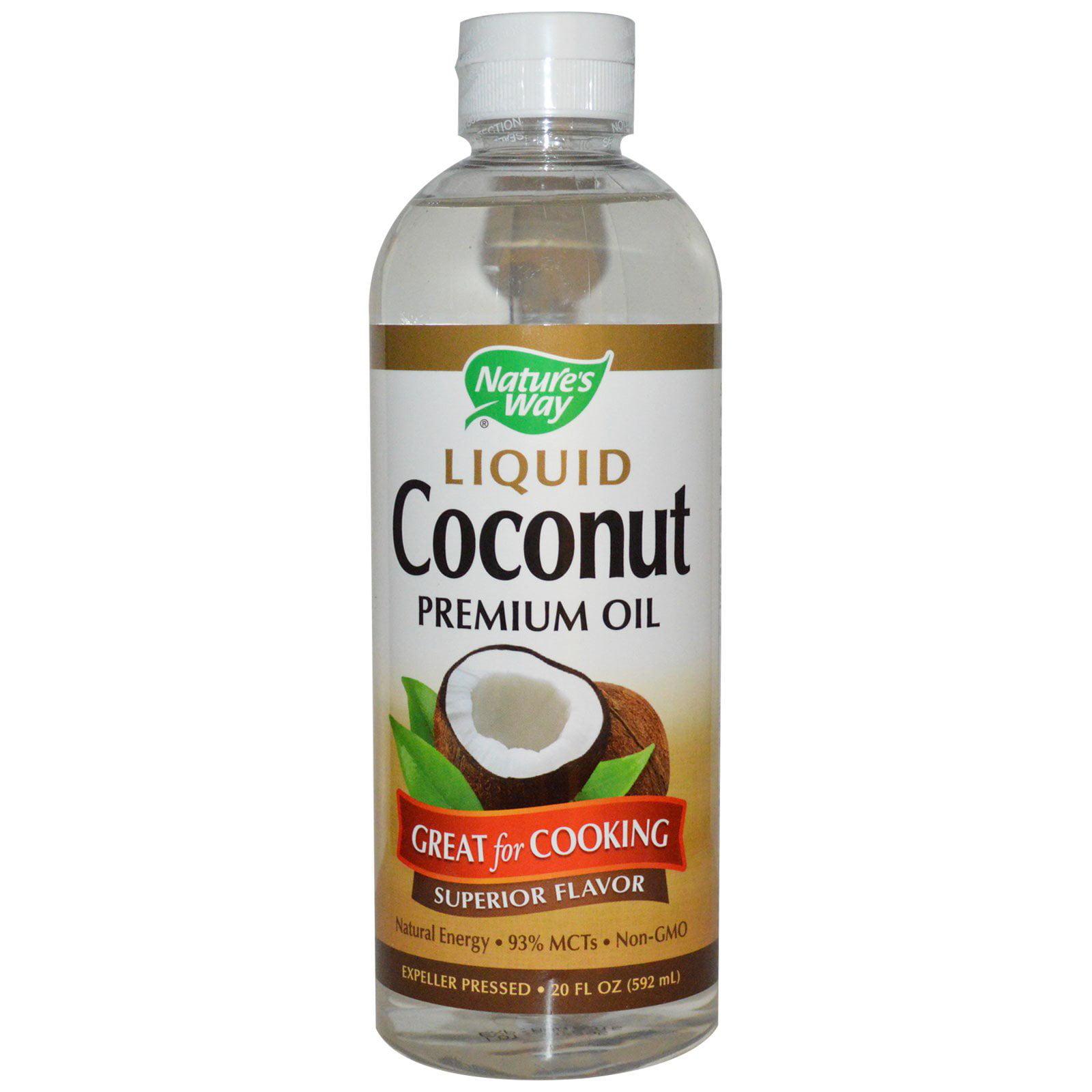 Nature's Way, Liquid Coconut, Premium Oil, 20 fl oz (pack...