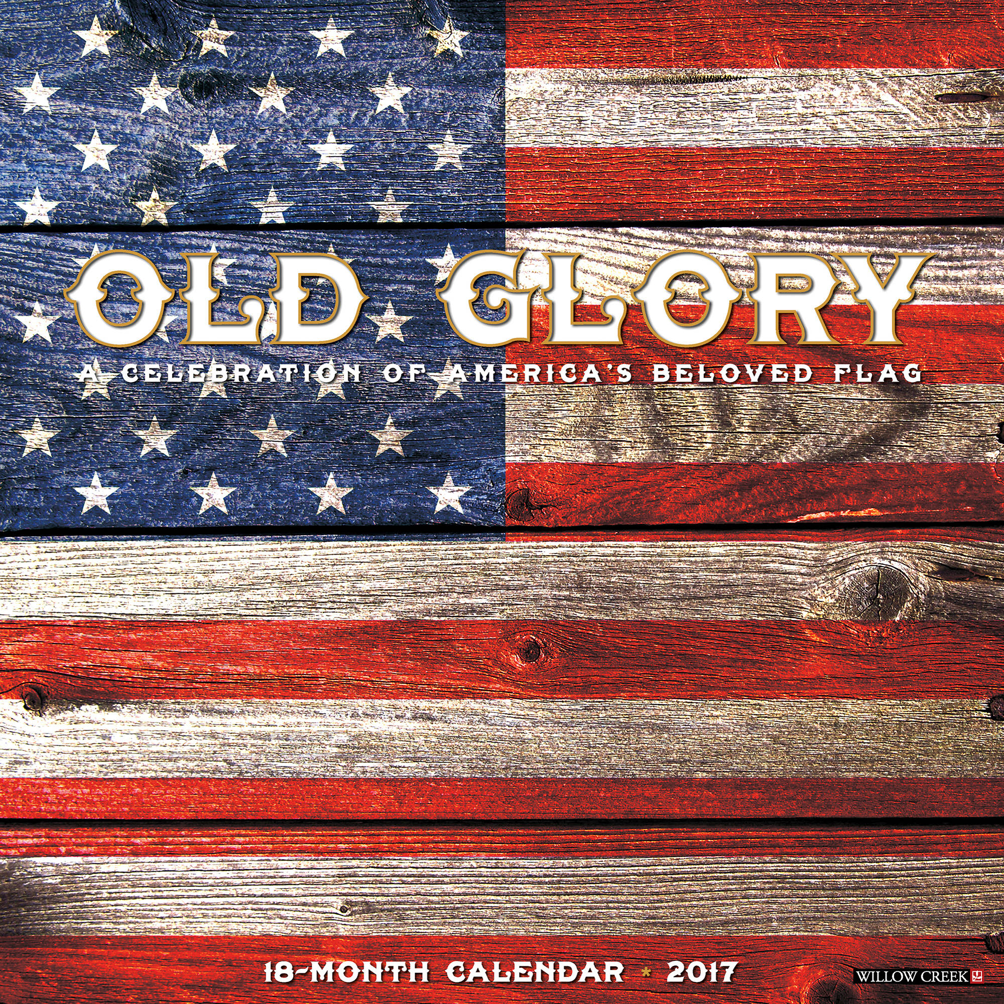 2017 Old Glory Wall Calendar