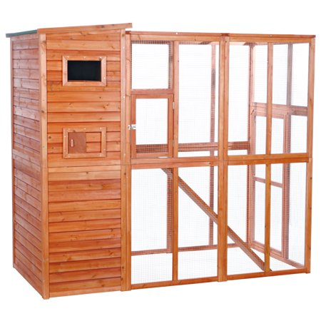 Trixie Pet Wooden Outdoor Cat Run