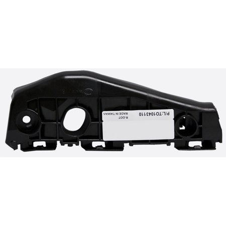 Driver Side Front Bumper Bracket (2009-2010 Toyota Corolla Front Bumper Bracket Driver & Passenger Side Left/Right Hand)
