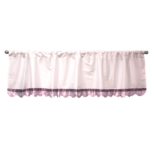 Petit Tresor Papillon Window Curtain Valance by Petit Tresor