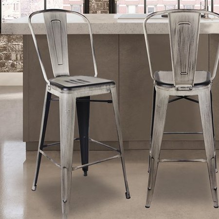 Fabulous Williston Forge Aiello 30 Bar Stool Set Of 2 Lamtechconsult Wood Chair Design Ideas Lamtechconsultcom