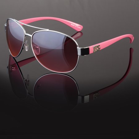 DG Eyewear Fashion Designer Sunglasses Mens Womens Black Retro Aviator (Men With Shades)