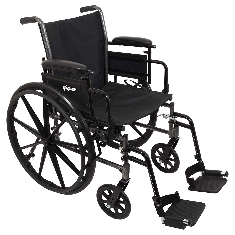 """ProBasics K3 Lightweight Wheelchair, 18"""" x 16"""""""