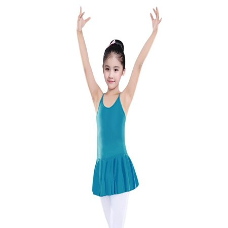 Outtop Toddler Girls Straps Leotards Ballet Bodysuit Dancewear Dress Clothes Outfits