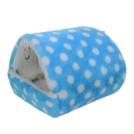 New Hamster Sleeping Bed Warm Soft Squirrel Hedgehog Rabbit Nest Mice Small Animals Pet Bed - Sleeping Rabbit
