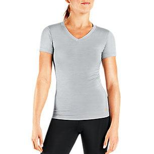 Sm Silver Heather Women's Short Sleeve Shirt