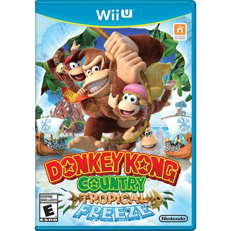 Donkey Kong Country: Tropical Freeze, Nintendo, WIIU, [Digital Download],