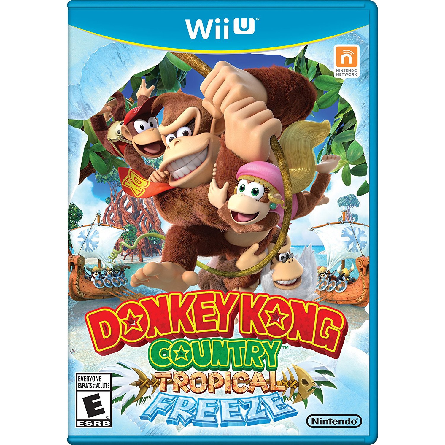 Donkey Kong Country: Tropical Freeze, Nintendo, WIIU, [Digital Download], 0004549666011