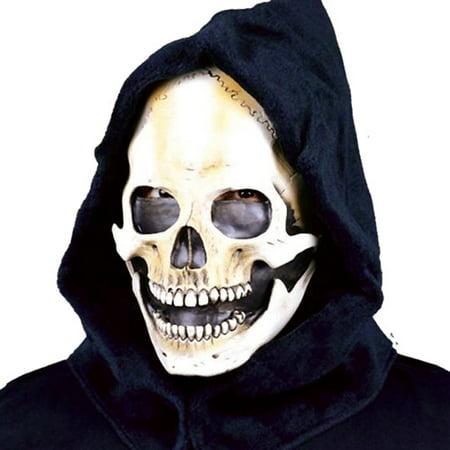 Gas Mask Hoods (Hooded Skull Halloween Adult Latex)