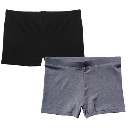 Popular Girl's Premium Playground Shorts - 2 pack