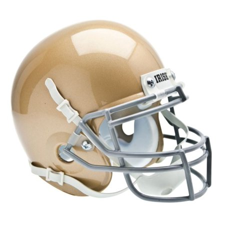 Souvenir Helmet - Shutt Sports NCAA Mini Helmet, Notre Dame Fightin Irish