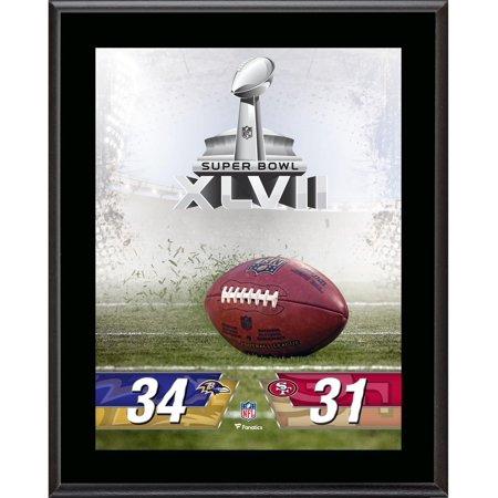 Baltimore Ravens vs. San Francisco 49ers Super Bowl XLVII 10.5