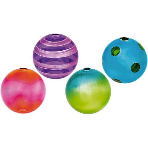 Evergreen Enterprises, Inc 4 Piece Glass Orb Set