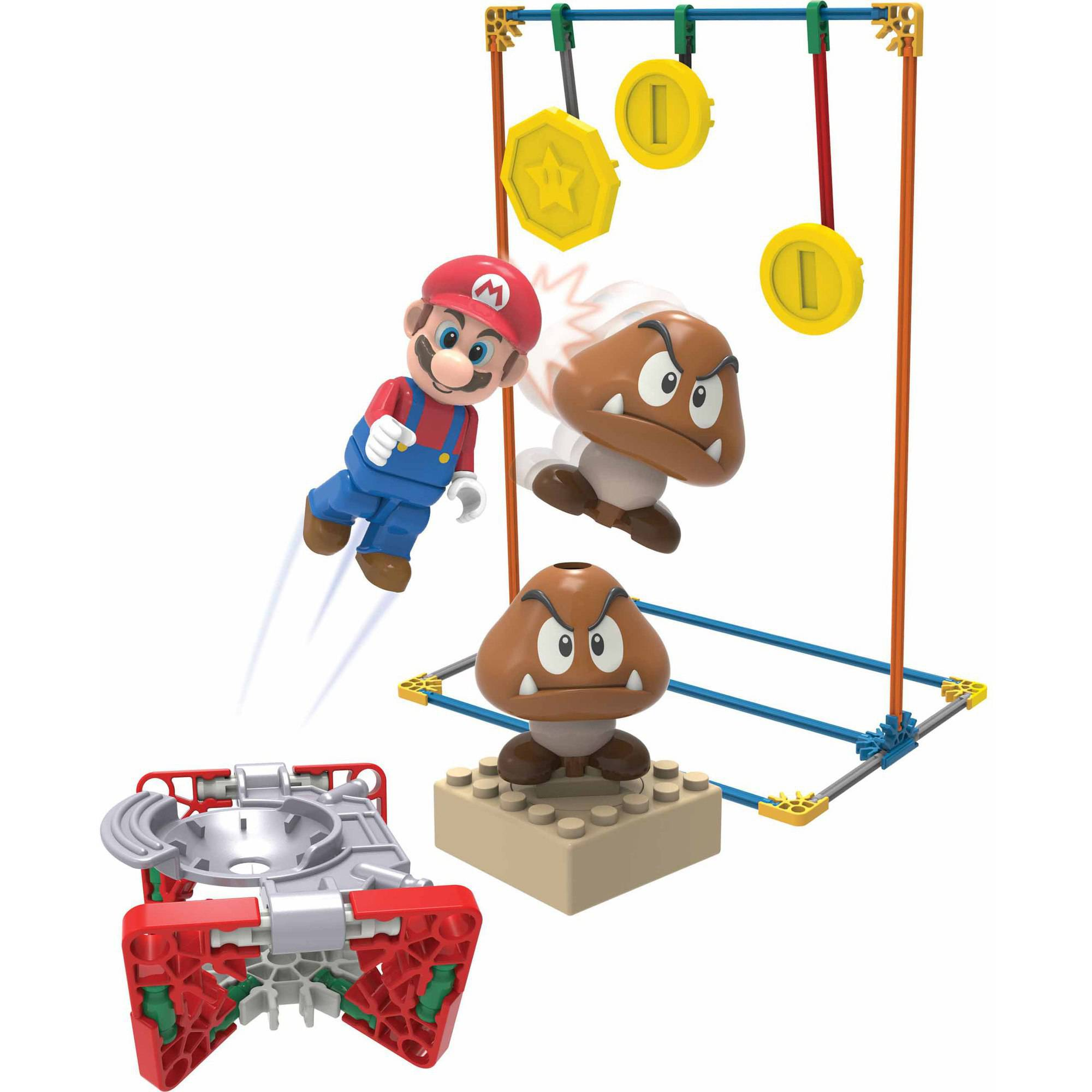 K'NEX Super Mario Stacked Goombas Building Set
