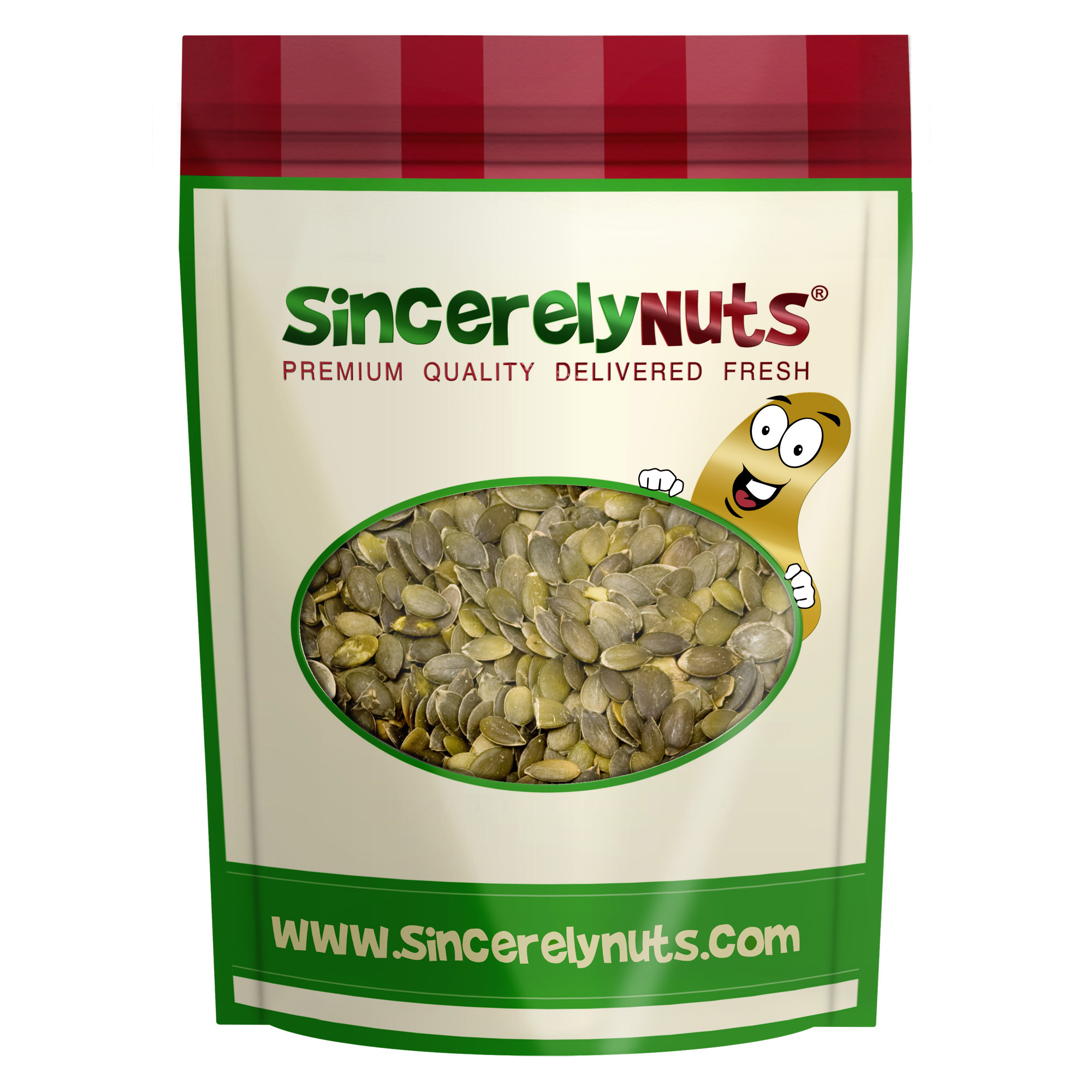 Sincerely Nuts Organic Pumpkin Seeds (No Shell) 5 LB Bag