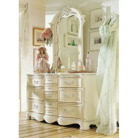 Lea Industries Jessica Mcclintock Romance Ten Drawer Dresser With