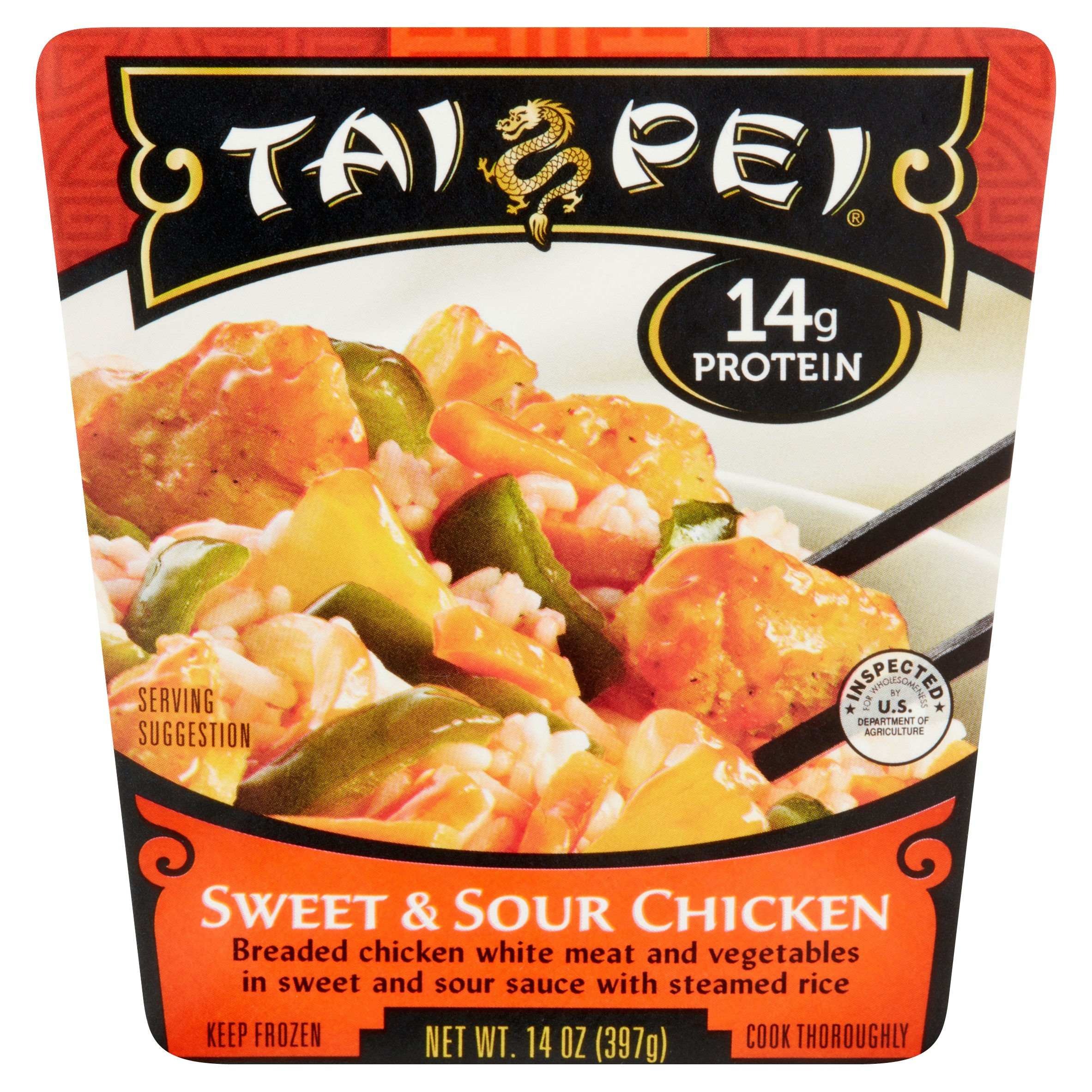 Taipei Sweet & Sour Chicken Meal, 14 oz