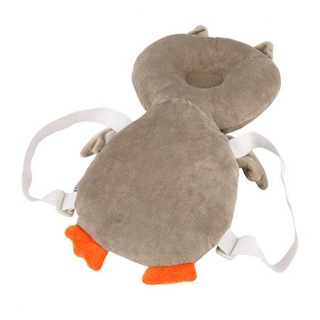 Yosoo Hibou de bande dessinée bébé tout-petit oreiller repose-tête protège-tête pour bébé repose-tête pour bébé - image 1 de 8