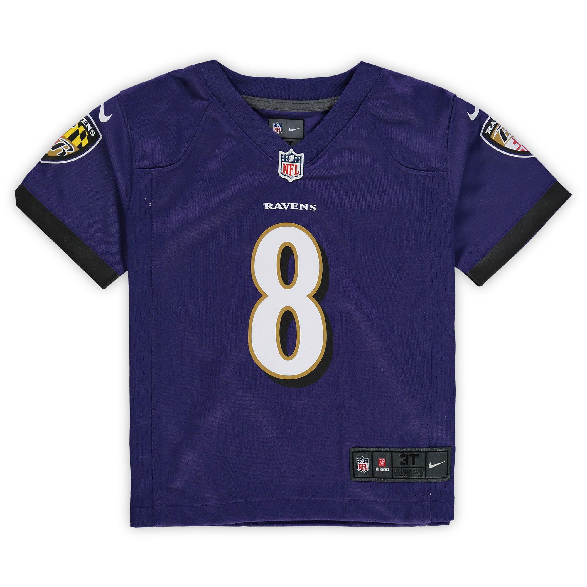 Lamar Jackson Baltimore Ravens Nike Toddler Game Jersey - Purple
