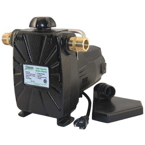 ZOELLER 314-0002 Utility Transfer Pump, 1/2 HP,1 Ph, 115V