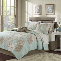 Home Essence Cornell Reversible Coverlet and Cotton Sheet Set