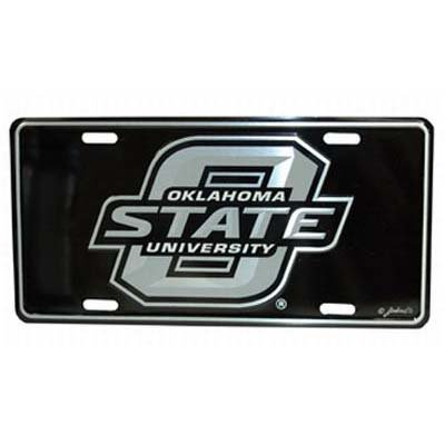 Oklahoma State Elite License Plate - Oklahoma Sooners License Plate