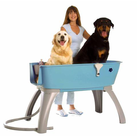 Booster Bath Elevated Dog Bath and Grooming Center