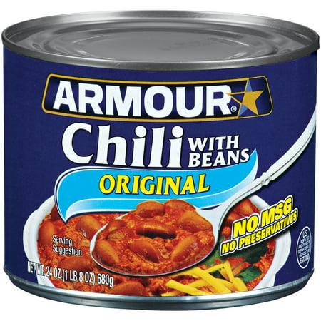 Armour W Beans Chili  24 Oz