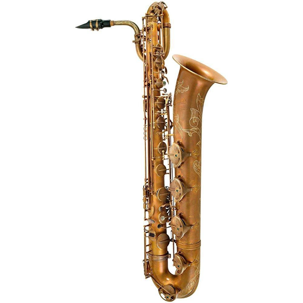 p. mauriat pmb-300 professional baritone saxophone unlacquered by