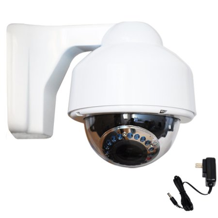 Cámaras De Vigilancia VideoSecu Weatherproof IR Day Night Security Camera Varifocal High Resolution Built-in 1/3