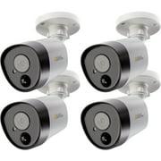 Q-see QTH8075B-4 5 Megapixel Surveillance Camera, 4 Pack, Bullet