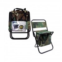 Foldable Chair with Compartments - 3 Piece