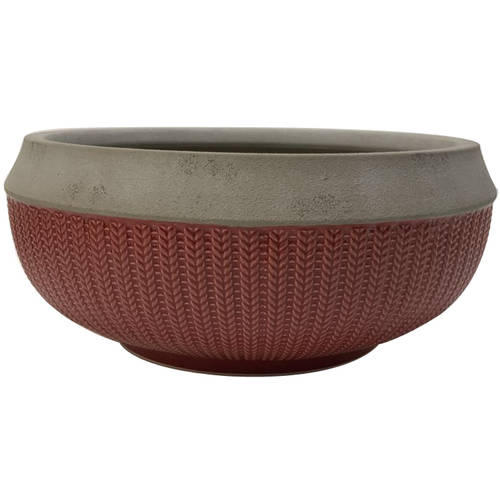 """Better Homes and Gardens 12"""" Planter, Coral by HK YIBO CERAMICS LIMITED"""