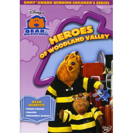 Bear in the Big Blue House: Heroes of Woodland Valley (Bear In The Big Blue House Cast)
