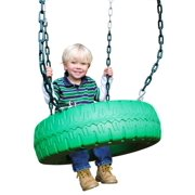 Single Axis Tire Swing With Chain