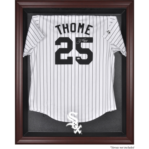 Chicago White Sox Fanatics Authentic Mahogany Framed Logo Jersey Display Case - No Size